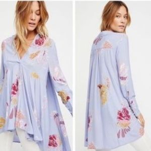 FREE PEOPLE HI LOW TUNIC